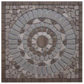 Mozaiek tegels medallion 60x60cm 51106 Topmozaiek24