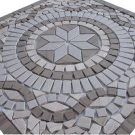 Mozaiek tegels medallion 66x66cm 51108 Topmozaiek24