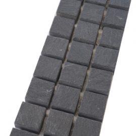 Mozaiek tegelstrips leisteen 5x30cm B046 Topmozaiek24