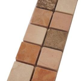 Mozaiek tegelstrip marmer 5x30cm B667(2) Topmozaiek24
