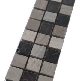 Mozaiek tegelstrip marmer 5x30cm B675(2) Topmozaiek24
