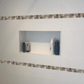 B187 - Badezimmer Streifen