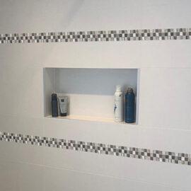 b811 Badezimmer Streifen